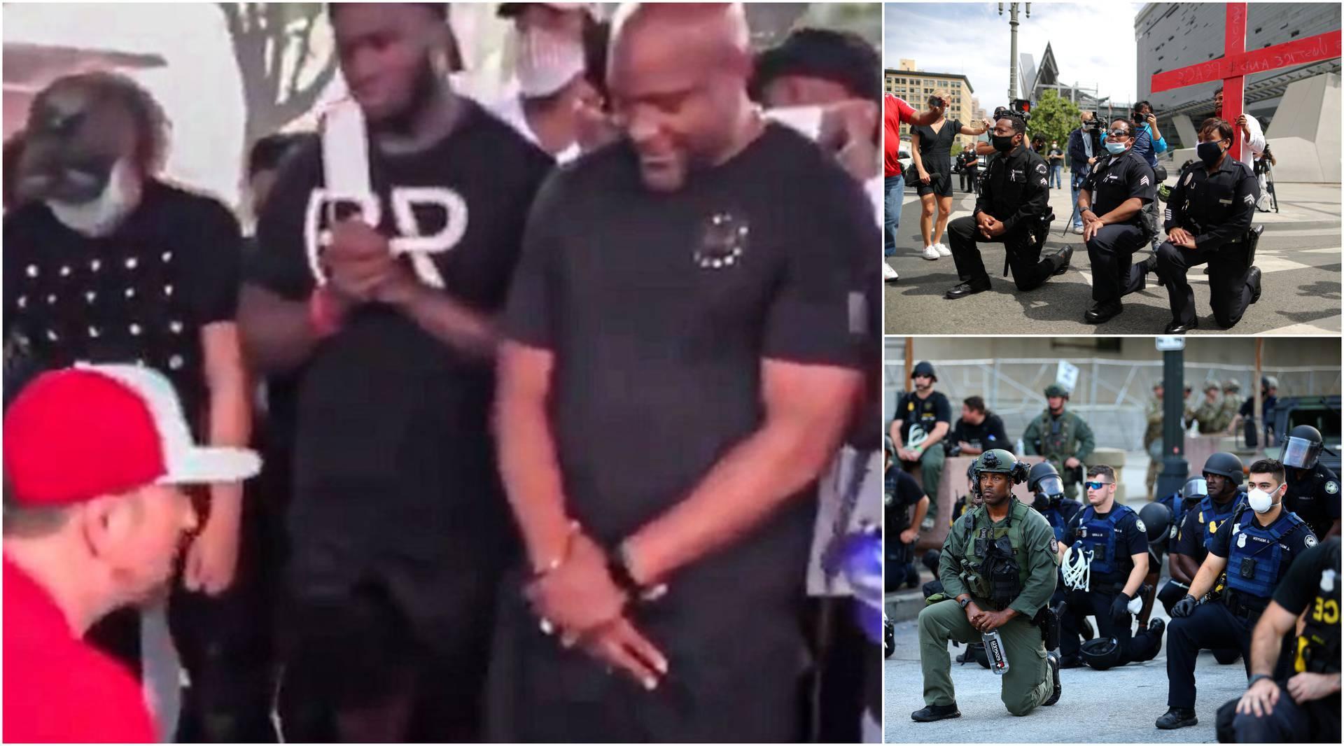 Iz Amerike se širi snimka koja će vas naježiti: Bijelci kleče i mole Afroamerikance za oprost