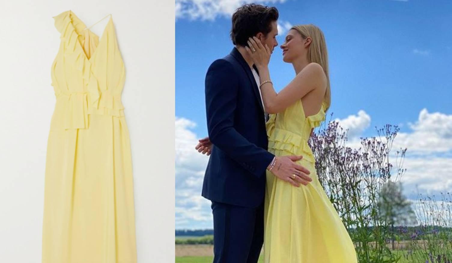 Zaručnica Brooklyna Beckhama na najavi vjenčanja odjenula haljinu buduće svekrve