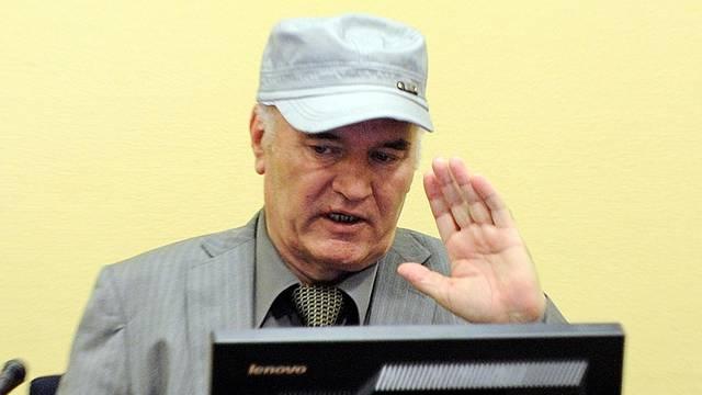 FILE PHOTO: Bosnian Serb wartime general Ratko Mladic