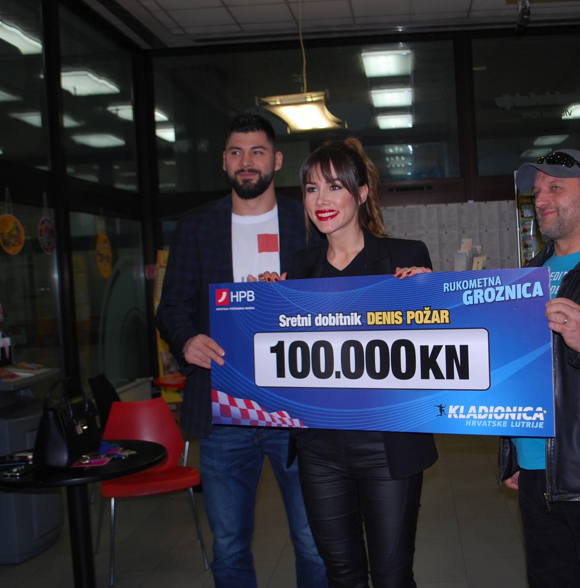 Denis Požar iz Duge Rese osvojio je 100.000 kuna