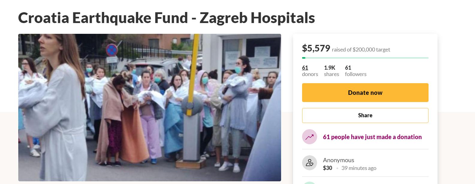 Pokrenuli globalnu kampanju za skupljanje novca za bolnice