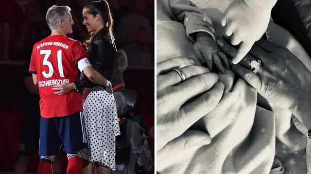 Dobrodošao na svijet: Ivanović i Schweini dobili drugo dijete...