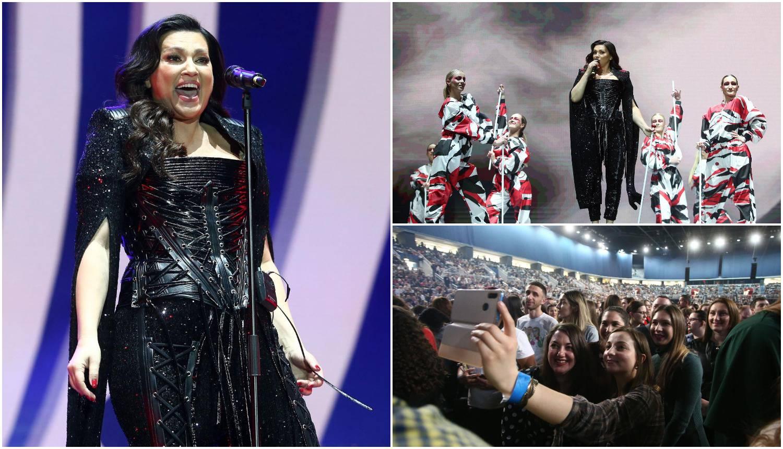 Nina Badrić nakrcala je Arenu: Zasjala u crnom kombinezonu