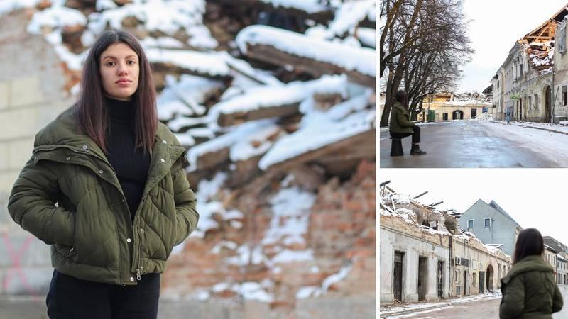 Dora (16) bila je sama s bratom kad je zatreslo: 'S potresom se urušilo i cijelo moje djetinjstvo'