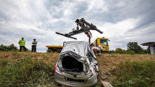 Na Istarskom ipsilonu u prometnoj nesreći poginula jedna osoba