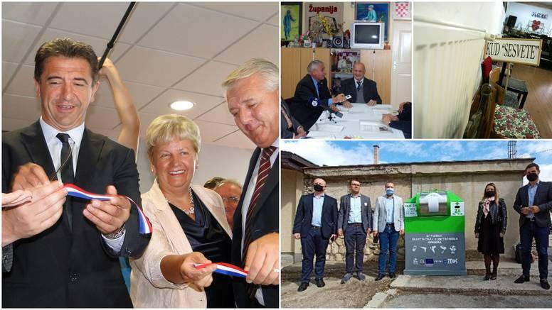 A da otvorite radna mjesta? Političari vole 'svečano otvarati' kontejnere, septičke jame, lift...