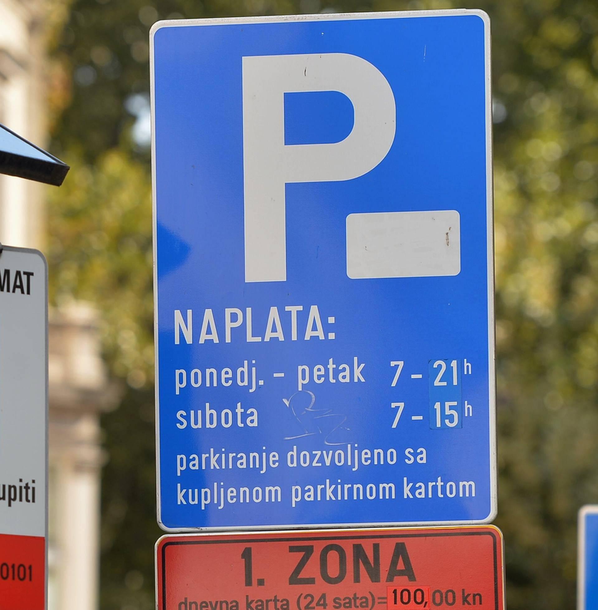 U nekim dijelovima Zagreba se ipak ukida naplata parkiranja