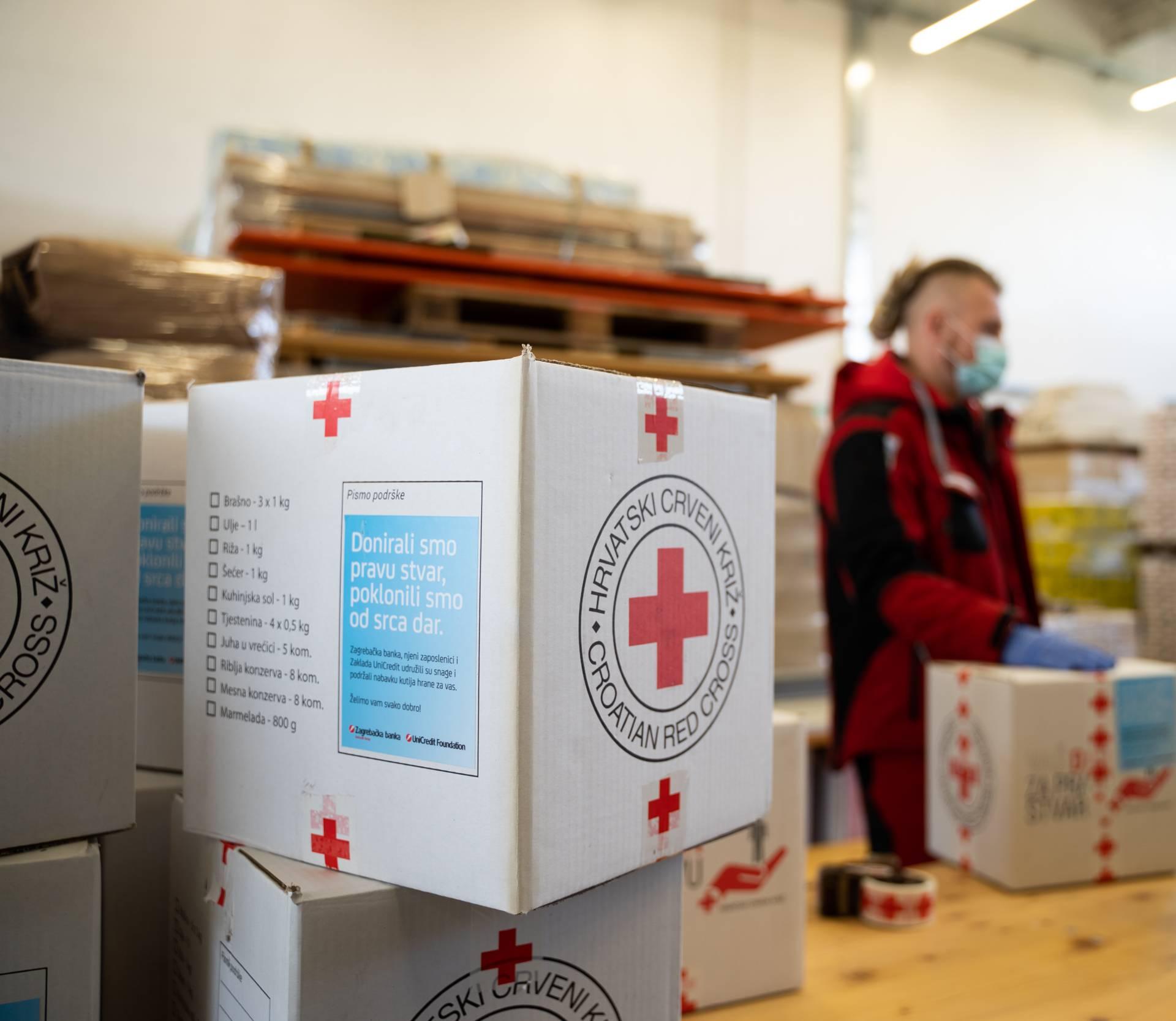 ZABA i Hrvatski Crveni križ pomažu socijalno ugroženima