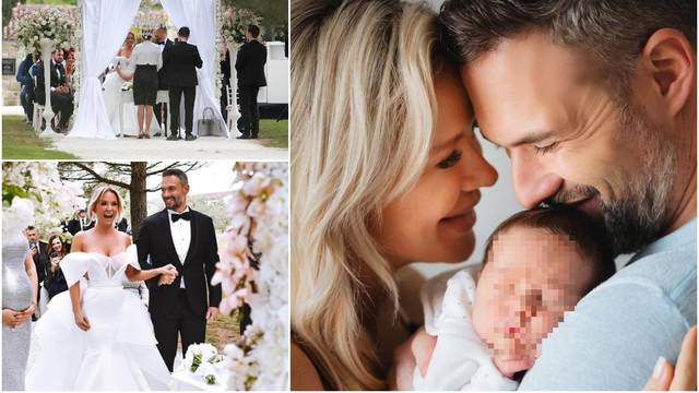 Maja objavila neviđene fotke s vjenčanja: 'Ljubavi, sretna ti druga godina najljepšeg braka'