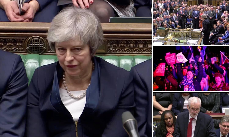 Potopili May: Odbili sporazum o Brexitu, a 'visi' joj i fotelja