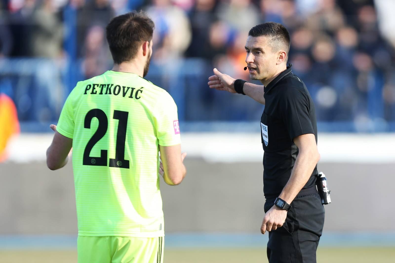Osijek: NK Osijek i GNK Dinamo u 22. kolu Prve HNL na stadionu Gradski vrt