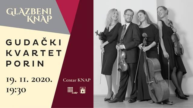 Nagrađivani gudački kvartet 'Porin' priprema spektakularan nastup u zagrebačkom KNAP-u
