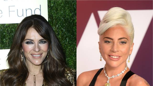 Elizabeth Hurley i Lady Gaga u istoj kreaciji s potpisom Versace
