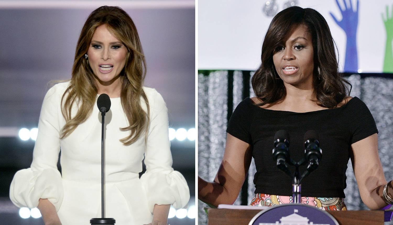Velike sličnosti: Je li Melania to prepisala  govor Prve dame?