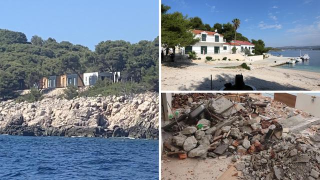 Mađari 'izorali'  Todorićev otok i sagradili 9 bungalova. I ne staju