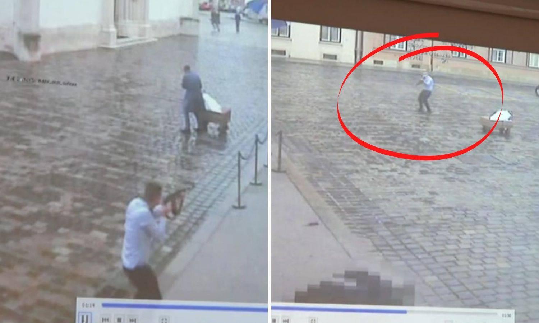 'Ispucao veliku količinu streljiva i kad je vidio reakciju policajca zamijenio je šaržer i opet pucao'