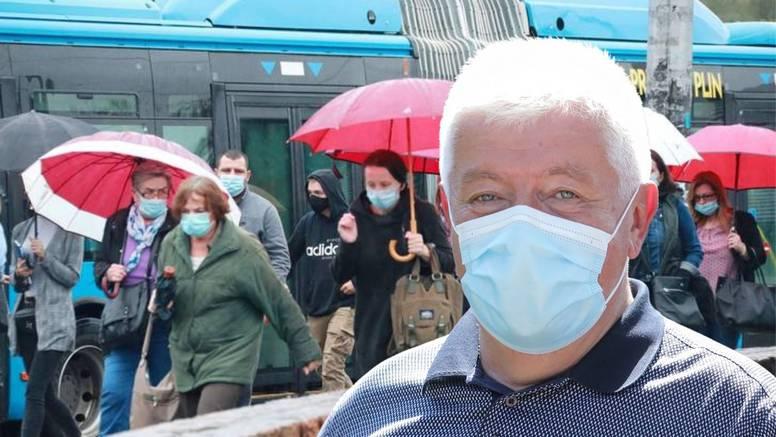 U Zagrebu 705 novozaraženih! Šostar: 'Ovo je zabrinjavajuće, ljudi, maske i držite se mjera!'