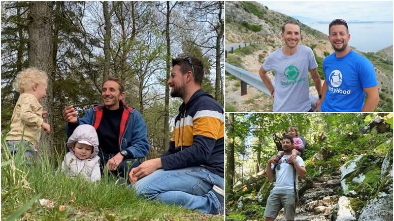 Očevi će sa dvogodišnjacima istraživati Krk: 'Čeka nas 7 dana avanture, ali i brige o djeci'