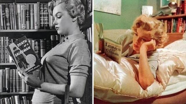 Voljela je čitati, a privlačili su je intelektualci poput Einsteina