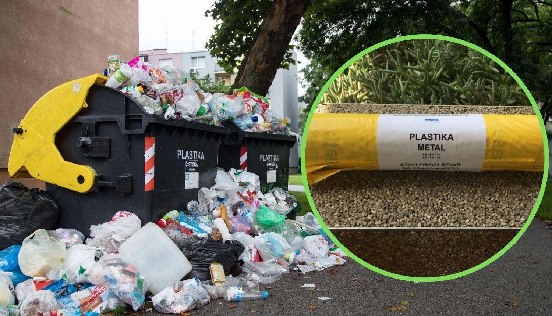 Zagrepčanima stižu vrećice za plastiku: Evo što smijete baciti