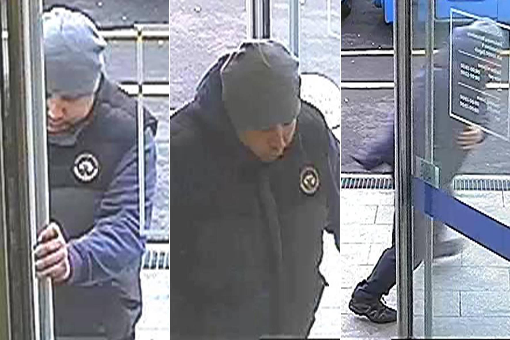 Policija moli za pomoć: Znate li tko je muškarac s fotografija?