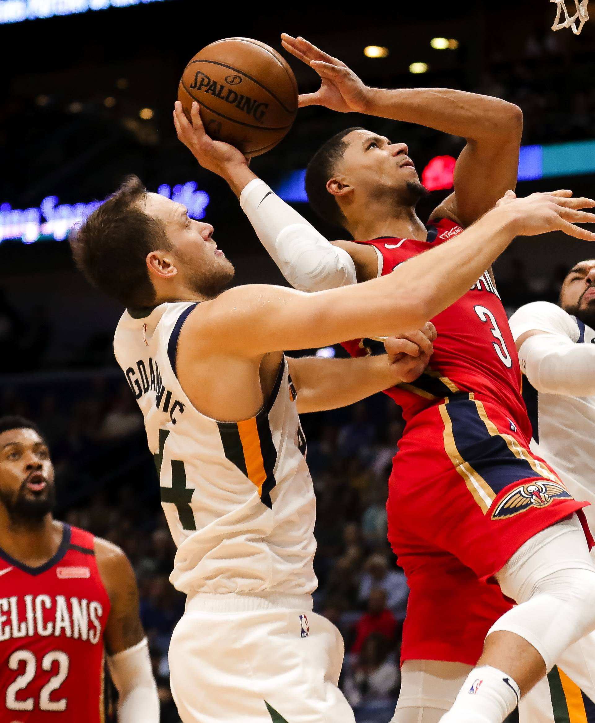 NBA: Utah Jazz at New Orleans Pelicans