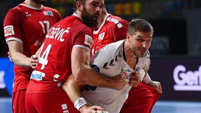 2021 IHF Handball World Championship - Preliminary Round Group E - Switzerland v Norway