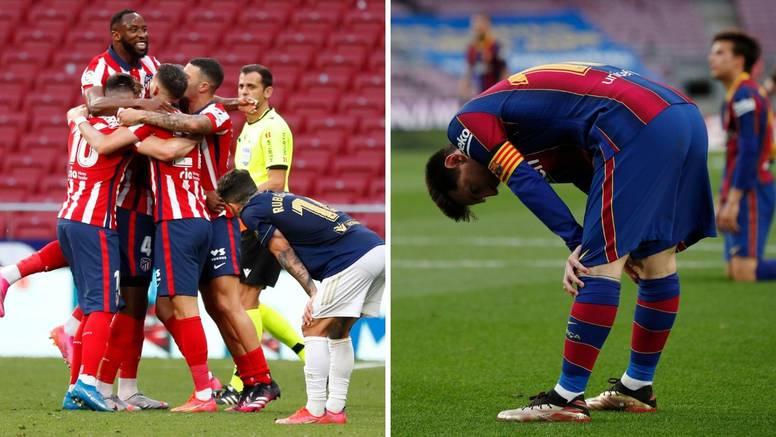 Atletico preokrenuo u infarktnoj završnici i na korak je od naslova, Barcelona opet u šoku!