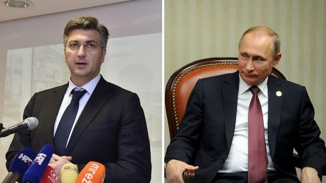 Nakon Plenkovićevih izjava: Rusi otkazali zajednički forum