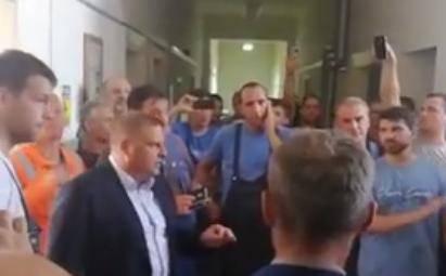 Vrije u '3. maju': Nezadovoljni radnici ušli u prostorije uprave