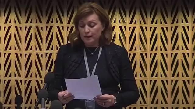 Urnebesni govor: 'Srbija adopt lov inlajn vit venišn komišn...'
