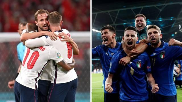 Italija i Engleska u finalu: Evo gdje je, kada i što morate znati