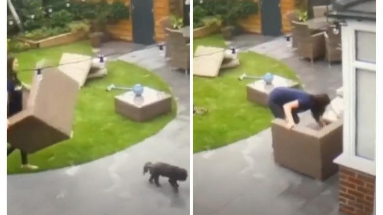 Izgubila psa pa je išla gledati snimke s nadzorne kamere