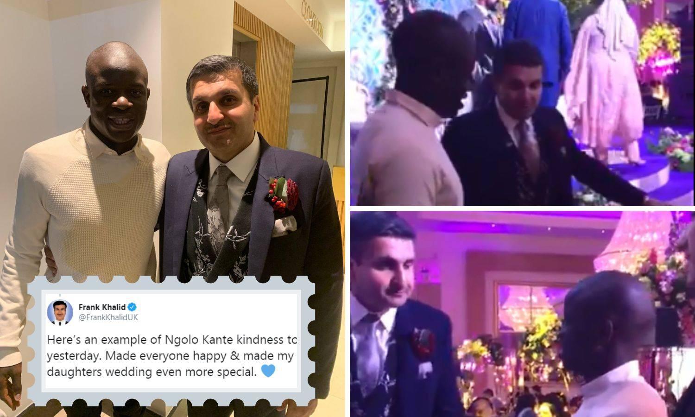 N'Golo Kante ozlijedio gležanj pa došao na svadbu navijača