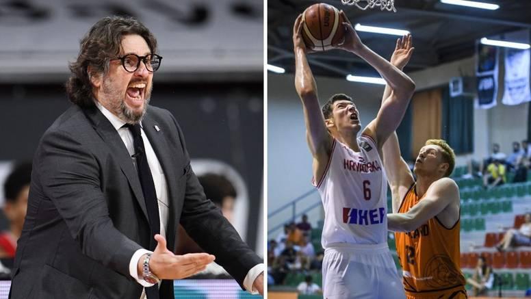 Trener Trinchieri oštro potjerao mladog hrvatskog košarkaša: 'Marš u svlačionicu, gubi se!'
