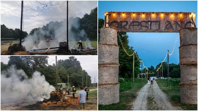 Vandali podmetnuli požar na festivalu elektroničke glazbe u Međimurju, policija traži krivca