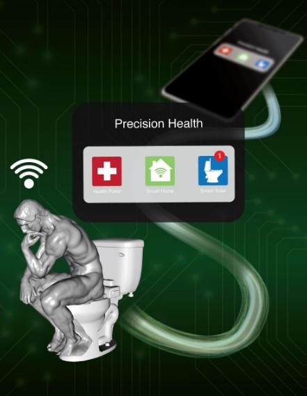Izumili WC školjku koja vas prepoznaje po analnom otisku
