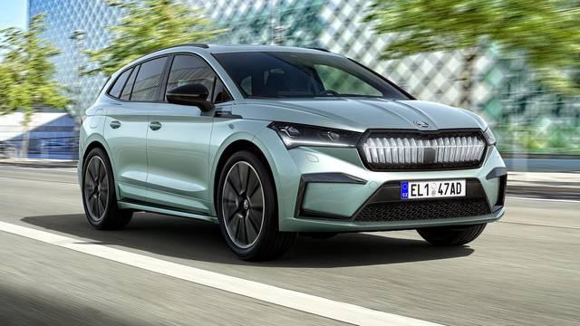 Češka senzacija: Škoda Enyaq je električni SUV s 510 km dosega