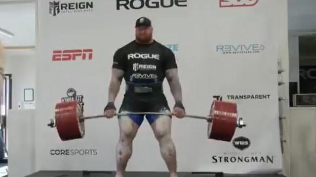 Kakav snagator:  'Planina' iz Igre prijestolja dignuo 501 kg
