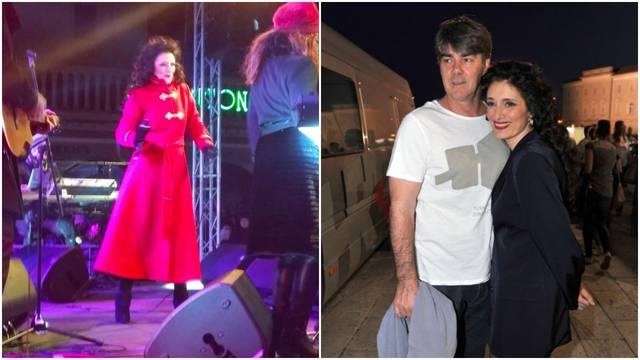 Smogla snage: Doris unatoč bolesti muža odradila koncert