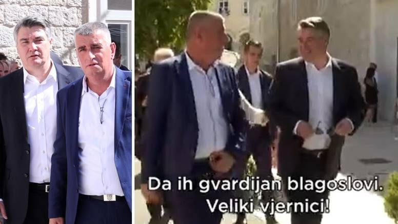 Mikrofon snimio razgovor Bulja i Milanovića: 'Da ih gvardijan blagoslovi, veliki vjernici'