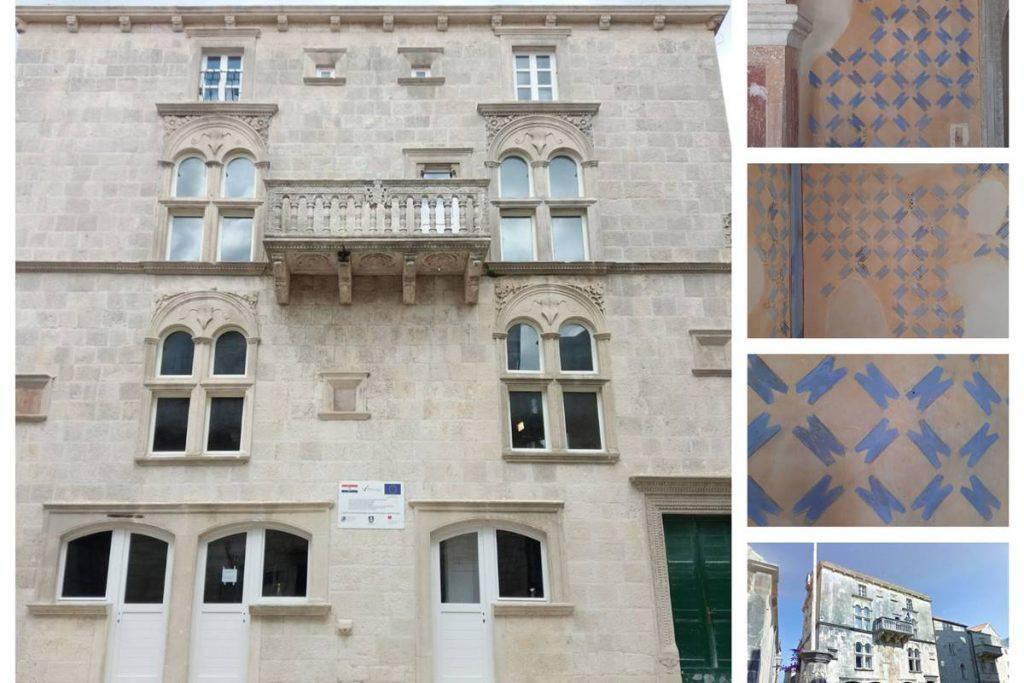 Obnavljali palaču na Korčuli, otkrili 13 slojeva zidnih oslika