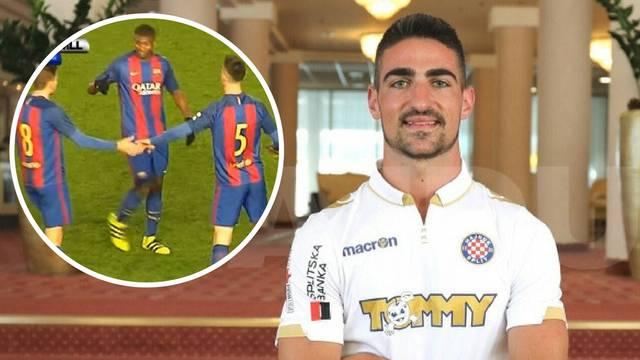 Hajduk je doveo stopera Barce: 'Brzo ću se prilagoditi u Splitu'
