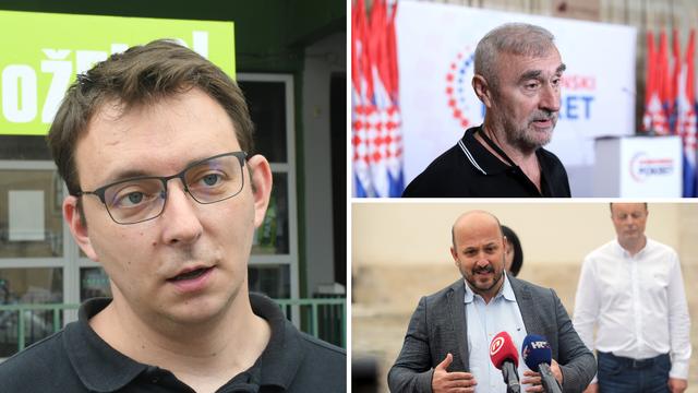 Maras i Aleksić ispali, Prkačin i Sačić preskočili Škorine ljude i ulaze u Sabor. Kao i Glavašević