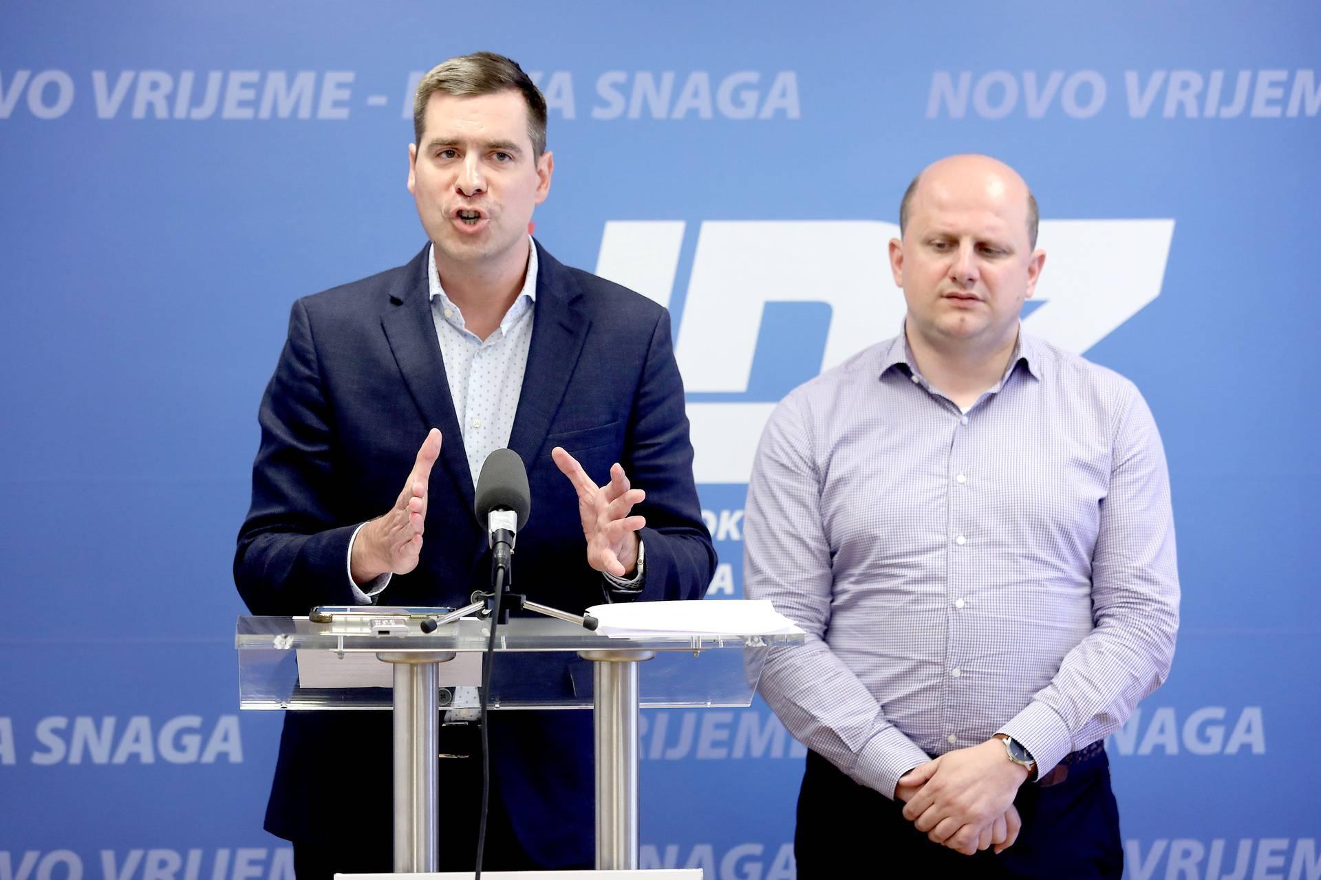 'HDZ će pobijediti na izborima i obnoviti Grad Zagreb, to vam sa sigurnošću možemo tvrditi'