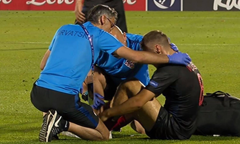 Vlašić zabio gol pa se ozlijedio! Iznijeli ga s terena na nosilima