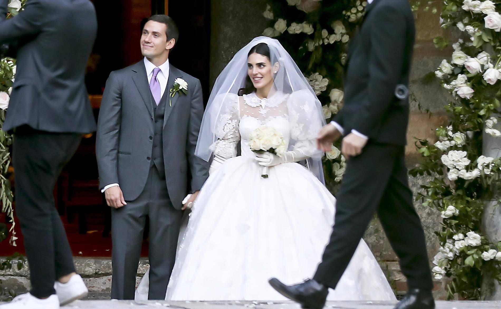 *PREMIUM-EXCLUSIVE* Luigi Berlusconi and Federica Fumagalli tie the knot in Milan. *MUST CALL FOR PRICING*