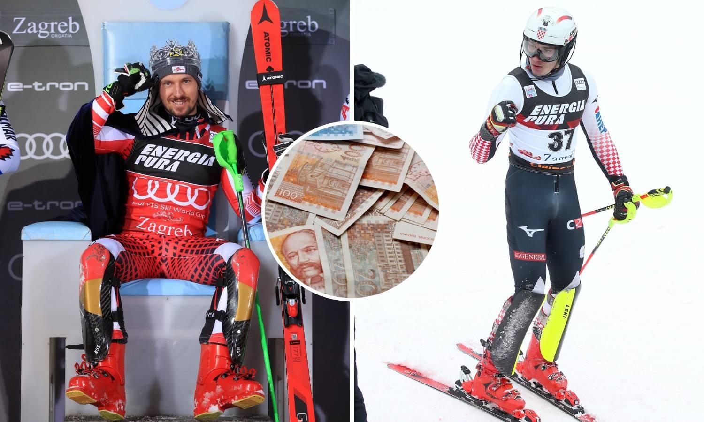 Naši skijaši zaradili 35, a prvi Hirscher skoro 300 tisuća kuna