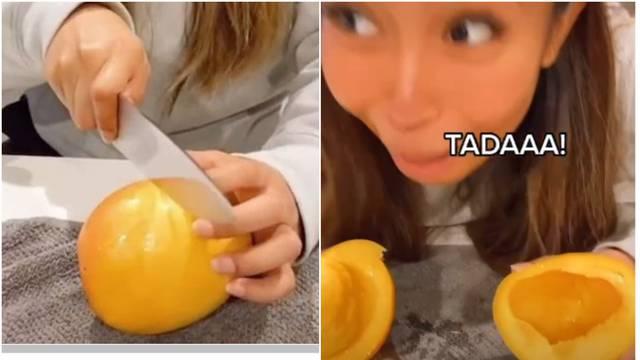 Otkrila svoj način kako izrezati mango i doista je jako lagano