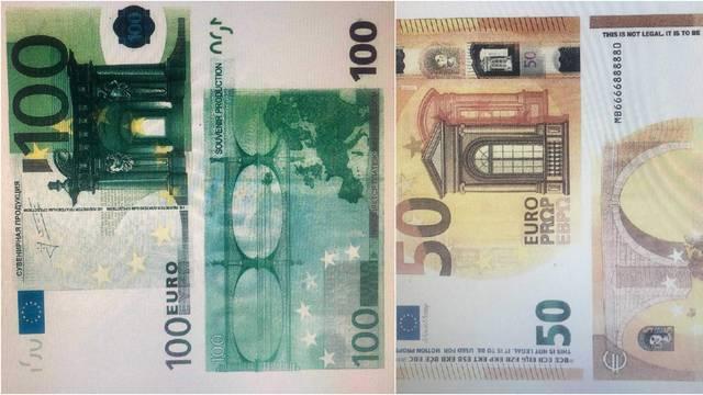 Oprezno, u opticaju su lažne novčanice od 50 i 100 eura!